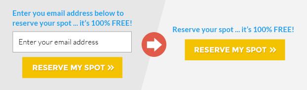 Diferencia entre un formulario convencional y un 2-step (imagen cortesía de LeadPages).