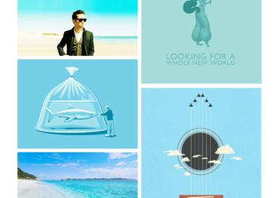 iOS app (color listing)